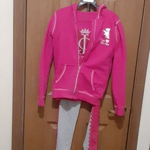Juicy couture size 12  3 piece jogging outfit